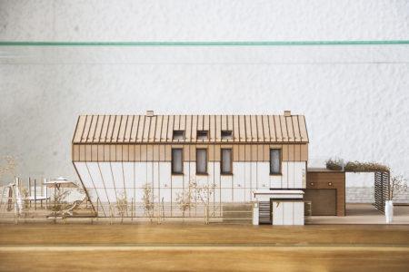 Makieta domu jednorodzinnego w skali 1:65